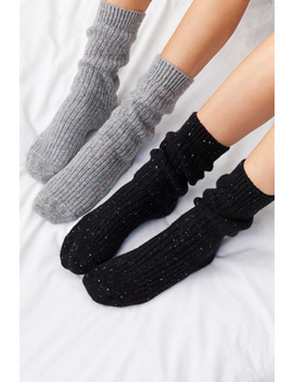 Favorite Slouchy Cashmere Sock by Free People