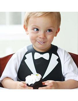 Make My Day 74504 Baby Bib Black Tuxedo by Amazon
