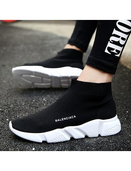 Plus Size 36 44 Popular Young Women Boots Fashion Breathable Spring And Summer Brand Sneaker Comfortable Light Casual Shoes by Ubfen