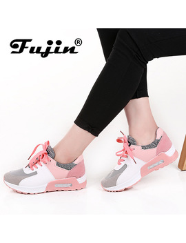 Fujin 2018 New Leather Shoes Handmade Brand Tenis Feminino Women Casual Shoes Lace Up Sneakers Fashion Flats Vulcanized Shoes by Fujin