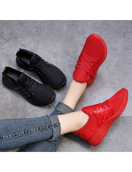 Fashion Unisex Air Mesh Women Vulcanize Shoes 4 Colors Women Sneakers Shoes 2018 Breathable Women Shoes Men Sneakers 44 Big  by Hal Luci