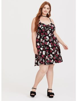 Disney Beauty & The Beast Sweetheart Skater Dress by Torrid