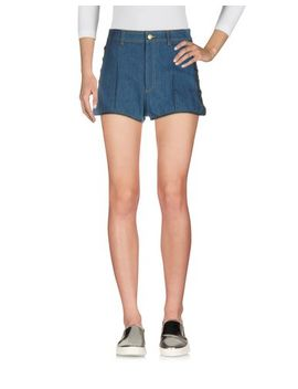 Alexander Mcqueen Denim Shorts   Jeans And Denim D by Alexander Mcqueen