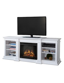 Real Flame® Fresno Electric Fireplace And Media Center by Bed Bath And Beyond
