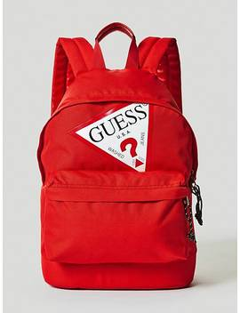 Logo Triangle Backpack by Guess