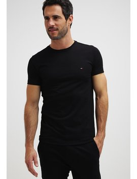New Stretch Tee C Neck   T Shirts by Tommy Hilfiger