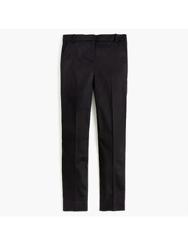 Petite Full Length Stretch Sateen Pant by J.Crew