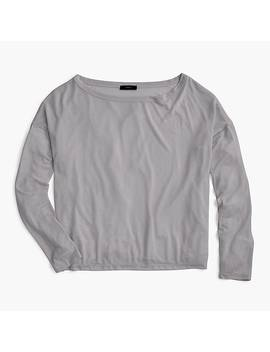 Long Sleeve Tencel™ T Shirt by J.Crew