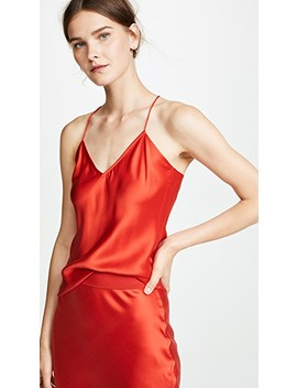 Draped Back Slip Top by Theory