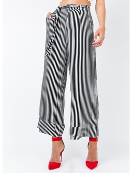 Minkpink Weekender Stripe Wide Leg Pants by Minkpink