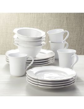 Savannah 16 Piece Dinnerware Set by Crate&Barrel