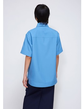 Utility Polo Top by Calvin Klein 205 W39 Nyc
