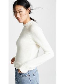 Shrunken Cashmere Pullover by Vince