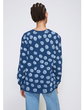 Lapped Long Sleeve Tee by Eckhaus Latta