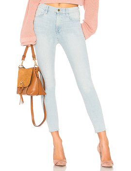 All High Rise Skinny Cigarette Jean by Frame