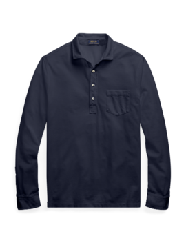 Classic Fit Mesh Shirt by Ralph Lauren