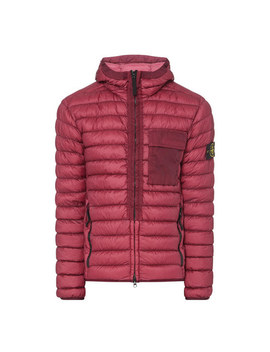 Quilted Down Jacket by Stone Island