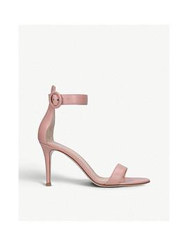 Portofino 85 Leather Sandals by Gianvito Rossi
