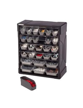 28 Drawer Small Parts Organizer by Husky