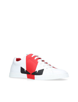 Bugs Low Top Trainers by Fendi