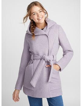 Bouclé Wool Coat by Twik Calvin Klein Jeans Twik Vans Simons