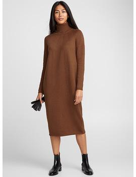 Loose Turtleneck Dress by Contemporaine L'intervalle Simons Bon Look X Simons The Stowe