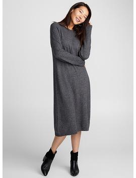 Minimalist Knit Dress by Contemporaine Simons Eau Contemporaine Daniel Wellington Simons