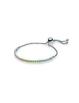 Multi Color Sparkling Strand Bracelet, Multi Colored Cz by Pandora