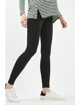 **Maternity Over The Bump Ankle Legging by Topshop