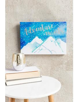 Adventure Awaits Wall Canvas by Francesca's