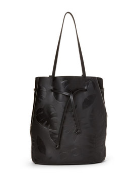 Dylan Palm Leather Drawstring Tote by Steven Alan
