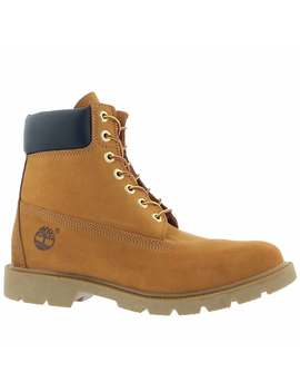 """Men's 6"""" Basic Wheat Lace Up Boots by Timberland"""