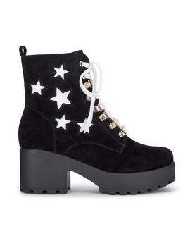 Star Chunky Platform Boots by Koi Footwear