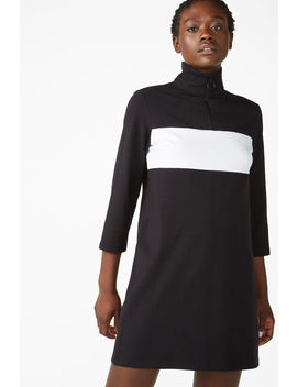 Colour Block Dress by Monki