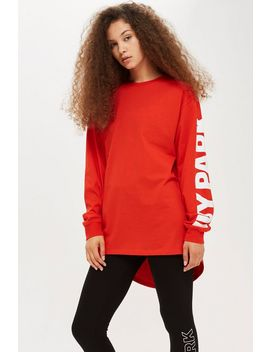 Oversized Long Sleeve T Shirt By Ivy Park by Topshop