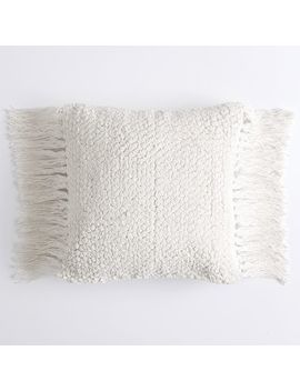 Lily Ashwell Textured Tassel Pillow Cover by P Bteen