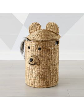 Bear Hamper by Crate&Barrel