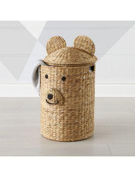 Bear Hamper by Crate&Barrel