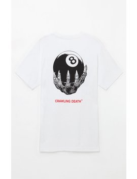 8 Ball Hand T Shirt by Crawling Death