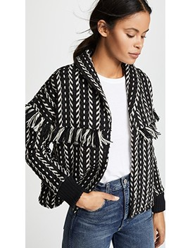 Genesis Jacket With Fringe by Cupcakes And Cashmere