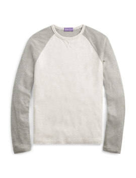 Crewneck Long Sleeve T Shirt by Ralph Lauren