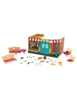 Li'l Woodzeez Medium Playset   Restaurant by Shop All Li'L Woodzeez