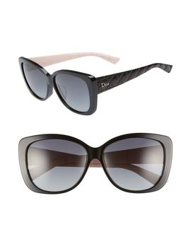 Lady 59mm Cat Eye Sunglasses by Dior