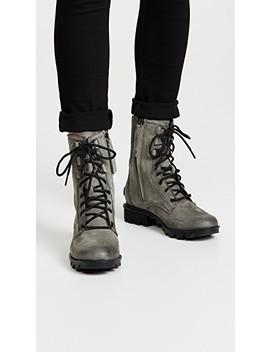 Phoenix Lace Boots by Sorel