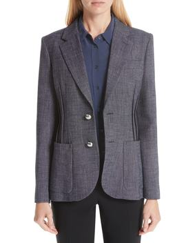 Chambray Jacket by Emporio Armani