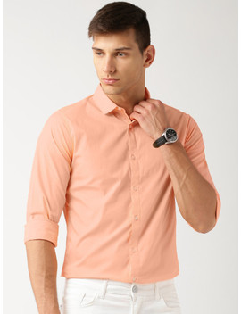 Ether Peach Anti Microbial Cotton Stretch Shirt by Ether