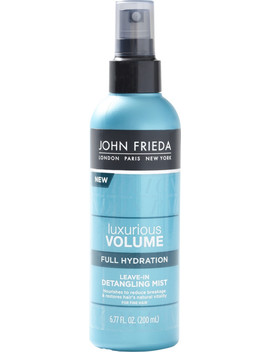 Luxurious Volume Full Hydration Leave In Detangling Mist by John Frieda