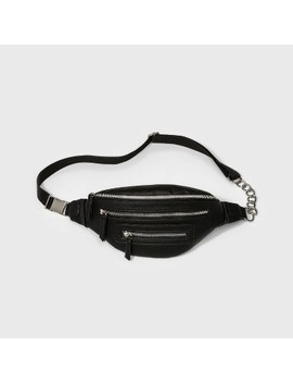 Pebbled Fanny Pack With Chains   Wild Fable™ Black by Shop All Wild Fable™