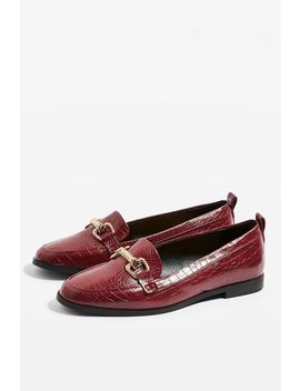 Lacey Trim Loafers by Topshop