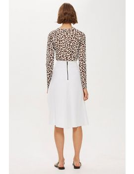 **Microfibre Circle Skirt By Boutique by Topshop